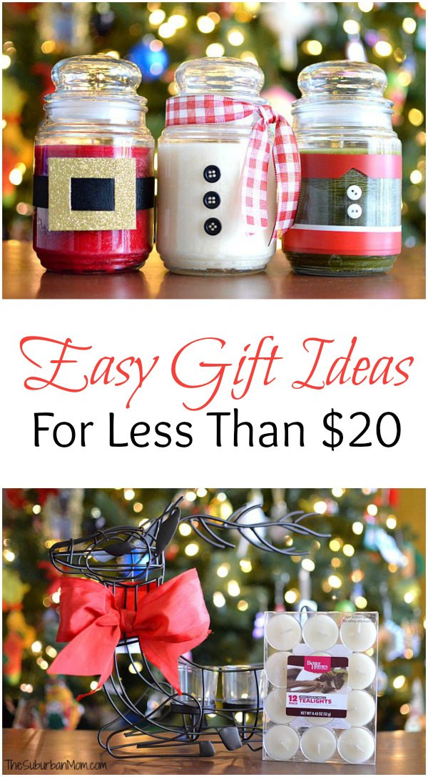 DIY Christmas Presents  DIY Christmas Candles And Other Easy Gift Ideas For Less