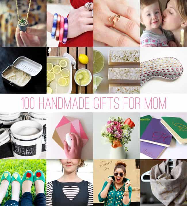 DIY Christmas Presents For Mom  100 Handmade Gifts for Mom