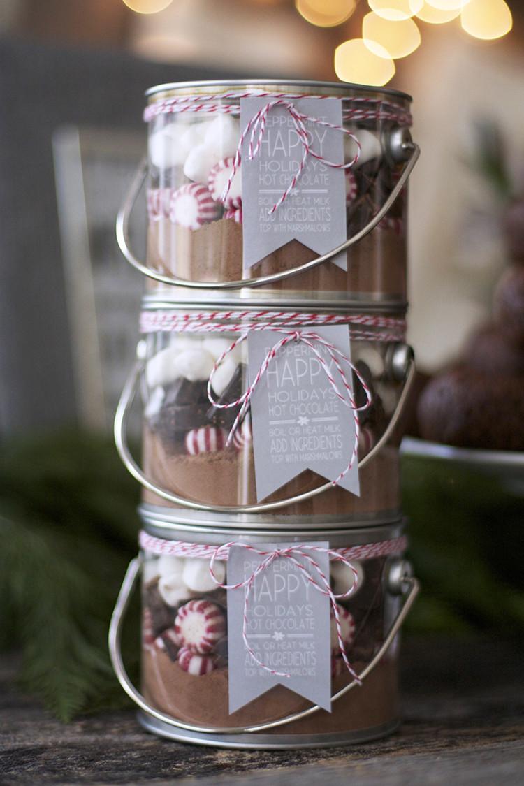 DIY Christmas Presents  life lemons and vodka DIY Christmas Gifts Hot Cocoa