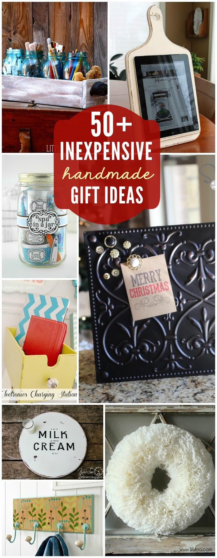 DIY Christmas Presents  Inexpensive Birthday Gift Ideas