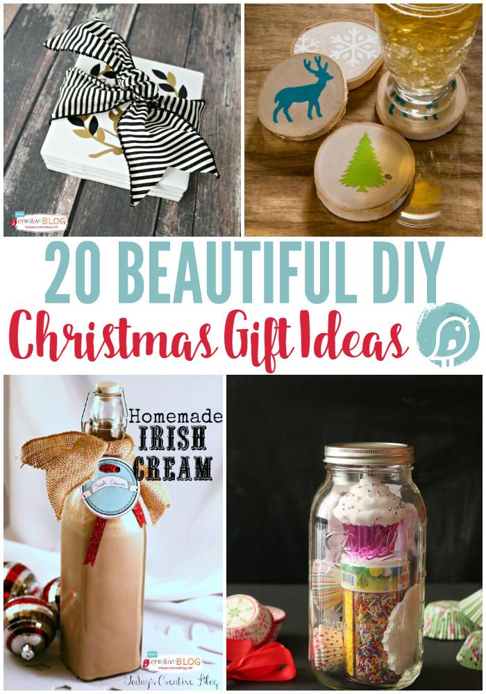 DIY Christmas Presents  20 DIY Christmas Gift Ideas