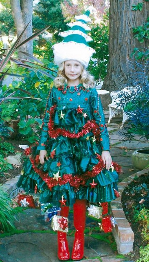 DIY Christmas Tree Costumes  Christmas Tree Costumes