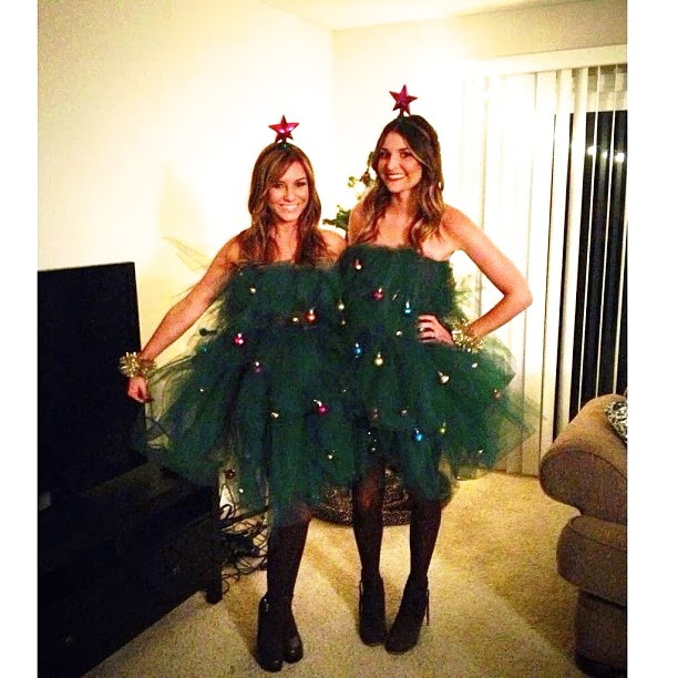 DIY Christmas Tree Costumes  DIY Christmas Tree Costume Sloppy Elegance