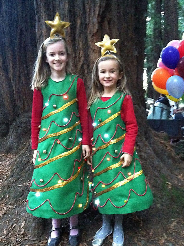 DIY Christmas Tree Costumes  Light Up Christmas Tree Costume