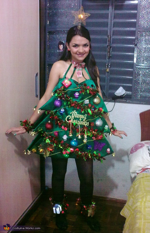 DIY Christmas Tree Costumes  Christmas Tree Costume Inspired by Katy Perry