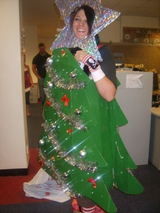 DIY Christmas Tree Costumes  Christmas Tree Costume Ideas and Inspiration