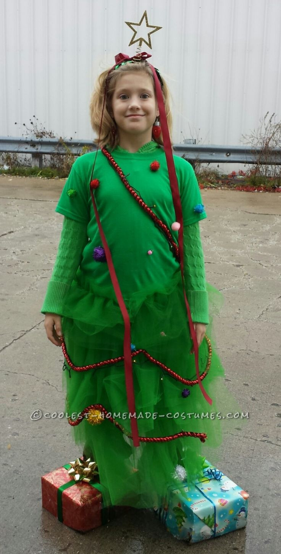 DIY Christmas Tree Costumes  Cool Homemade Christmas Tree Halloween Costume