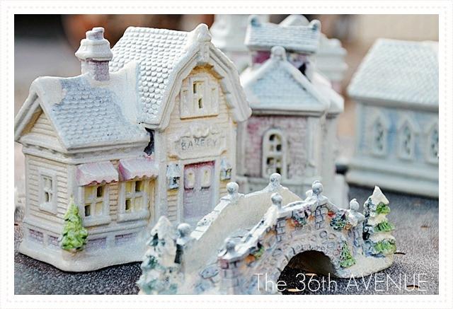 DIY Christmas Village  25 Handmade Christmas Decorations