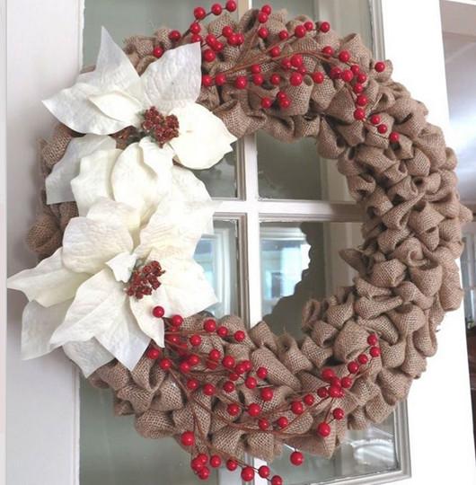 DIY Christmas Wreath Ideas  EXCEPTIONAL WREATH HANGING IDEAS Godfather Style