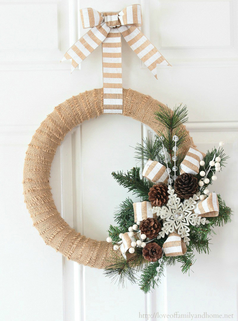 DIY Christmas Wreath Ideas  12 Modern Wreaths To Make This Christmas