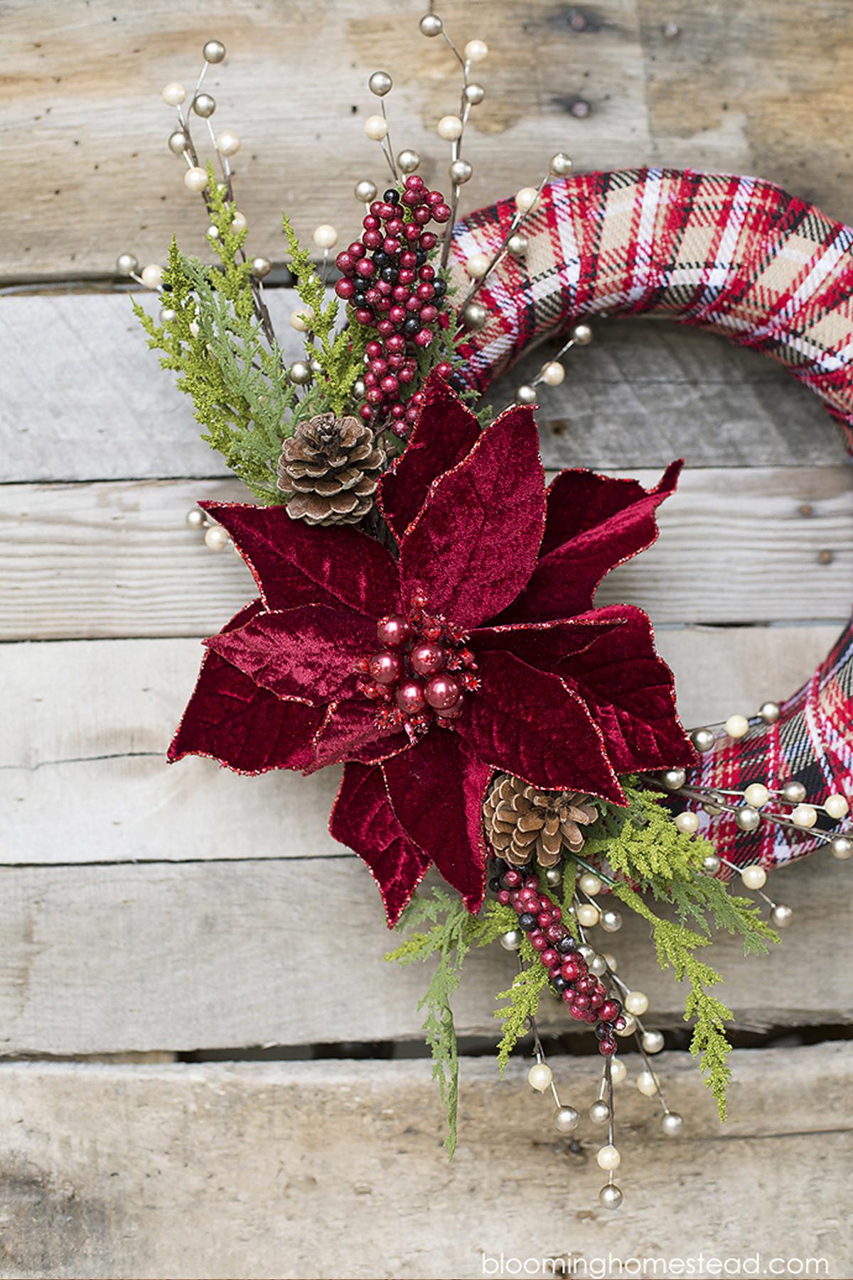 DIY Christmas Wreath Ideas  40 DIY Christmas Wreath Ideas How To Make a Homemade