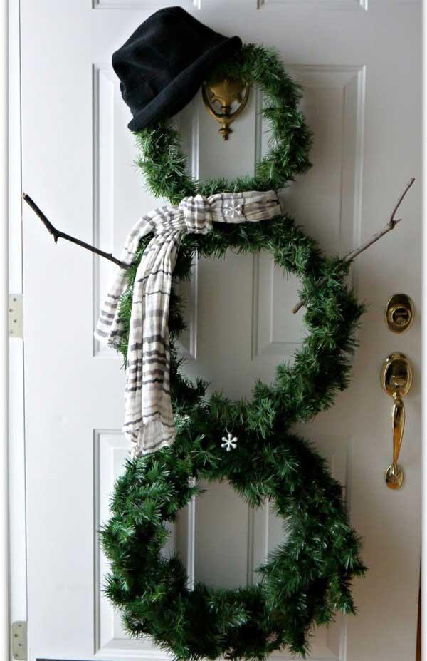DIY Christmas Wreath Ideas  Top 35 Astonishing DIY Christmas Wreaths Ideas