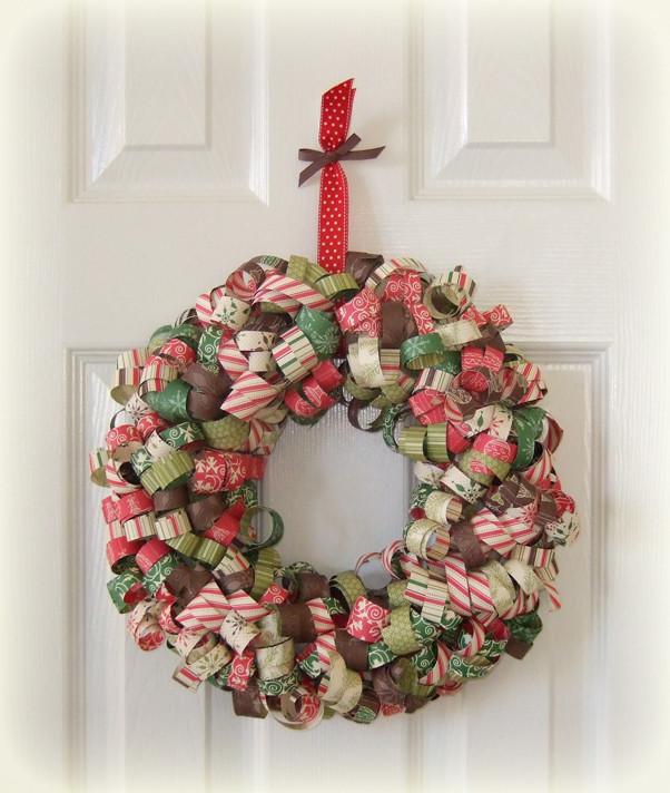 DIY Christmas Wreath Ideas  23 Great DIY Christmas Wreath Ideas Style Motivation