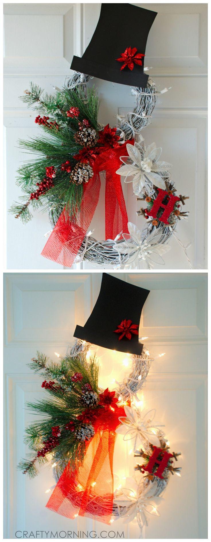 DIY Christmas Wreath Ideas  25 best ideas about Christmas Wreaths on Pinterest