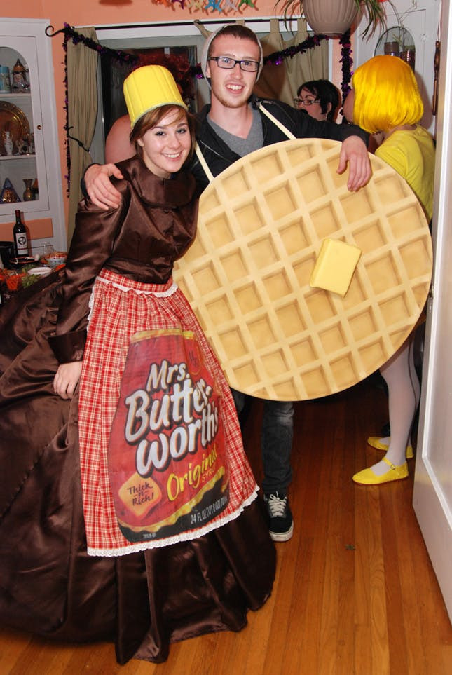 DIY Costume For Couples  114 Creative DIY Couples Costumes for Halloween