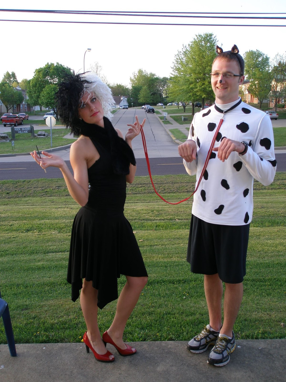 DIY Costume For Couples  Katie in Kansas DIY Couples Halloween Costume Ideas