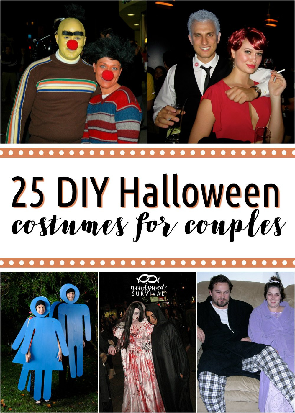 DIY Costume For Couples  25 DIY Costumes for Couples Newlywed Survival