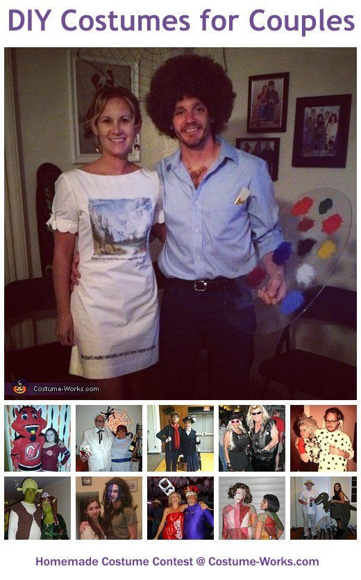 DIY Costume For Couples  Homemade Costumes for Couples