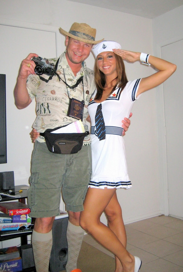 DIY Couple Costumes Ideas  Homemade Halloween costumes for adults – easy and creative