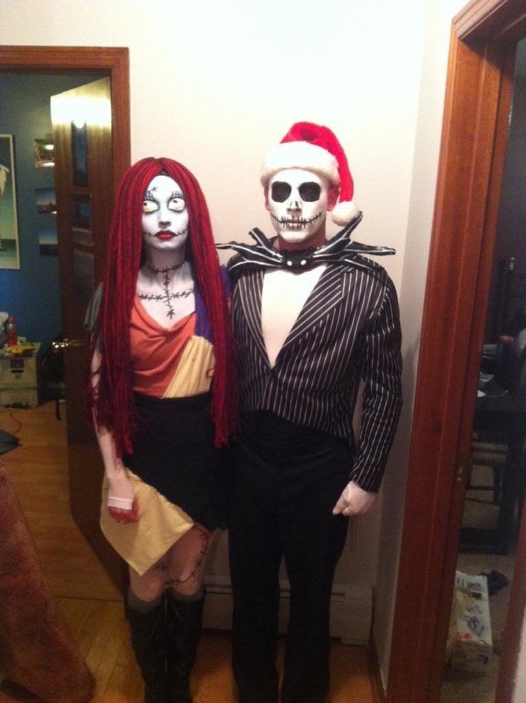 DIY Couple Costumes Ideas  Cheap DIY Couples Halloween Costumes