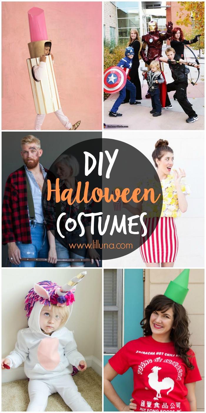 DIY Couple Costumes Ideas  50 DIY Halloween Costume Ideas Lil Luna