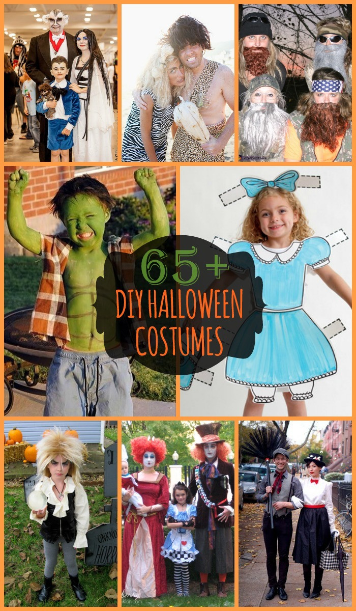 DIY Couple Costumes Ideas  DIY Halloween Kids Costumes