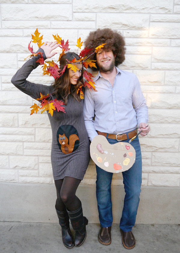 DIY Couple Costumes Ideas  44 Homemade Halloween Costumes for Adults C R A F T