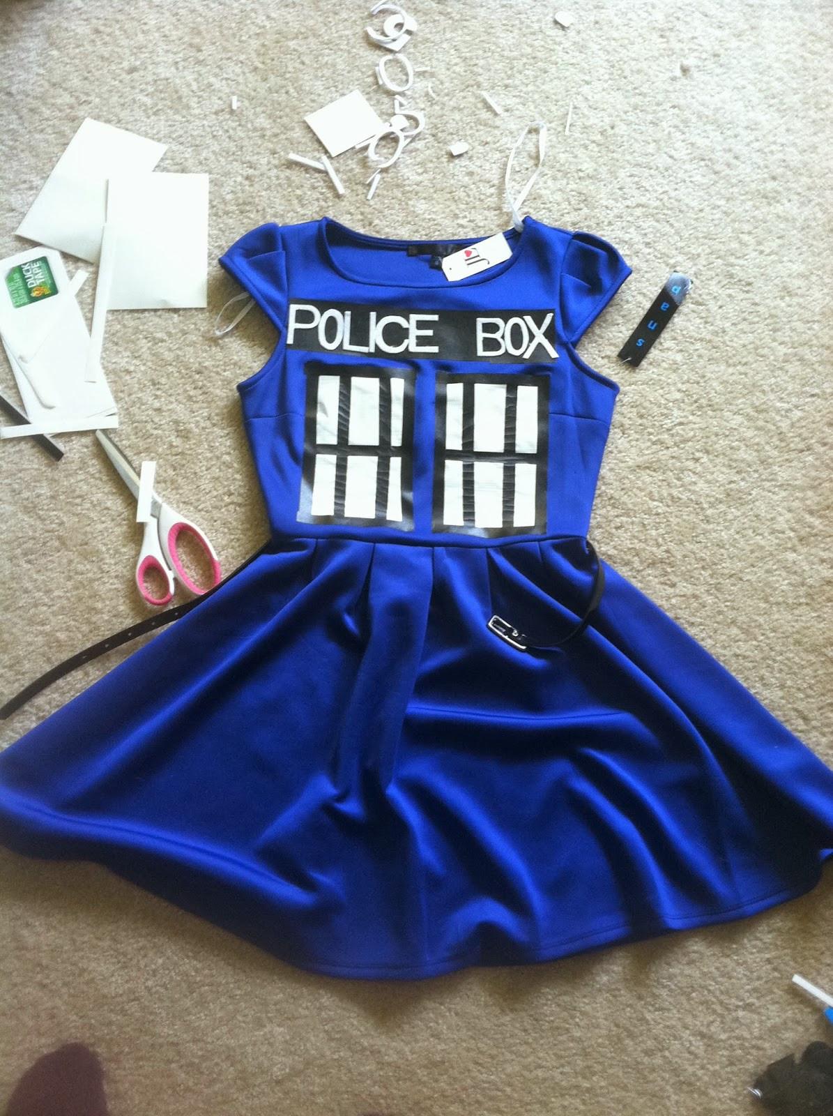 DIY Doctor Costumes  Hello I m the Doctor Tardis DIY Costume