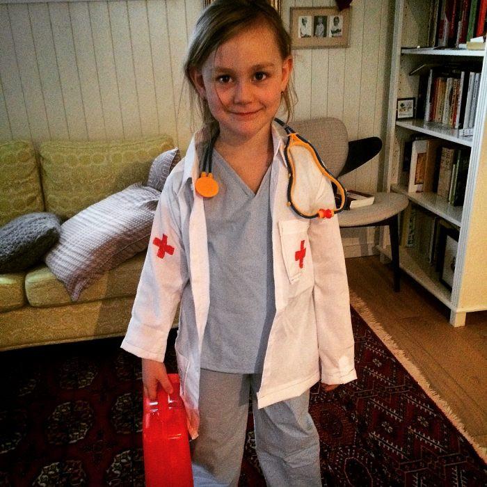 DIY Doctor Costumes  DIY Children s Doctor Costume