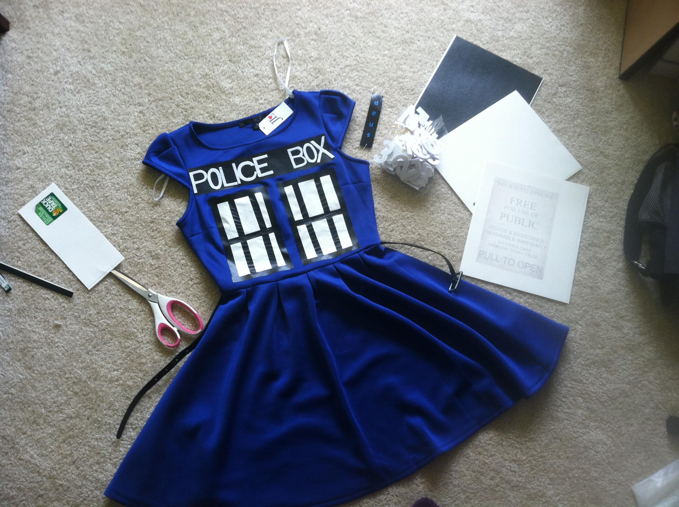 DIY Doctor Costumes  TARDIS Halloween costume