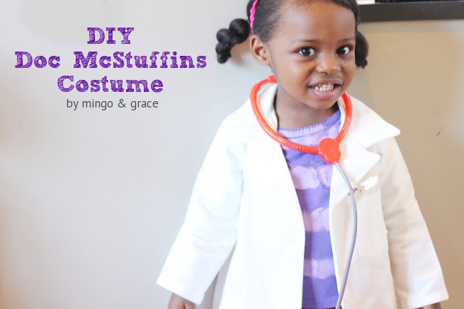 DIY Doctor Costumes  DIY DOC MCSTUFFINS COSTUME — mingo & grace
