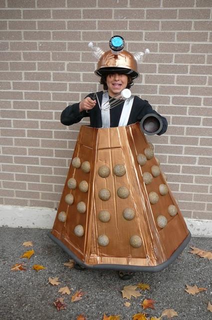DIY Doctor Costumes  Dalek Costumes for Men Women Kids