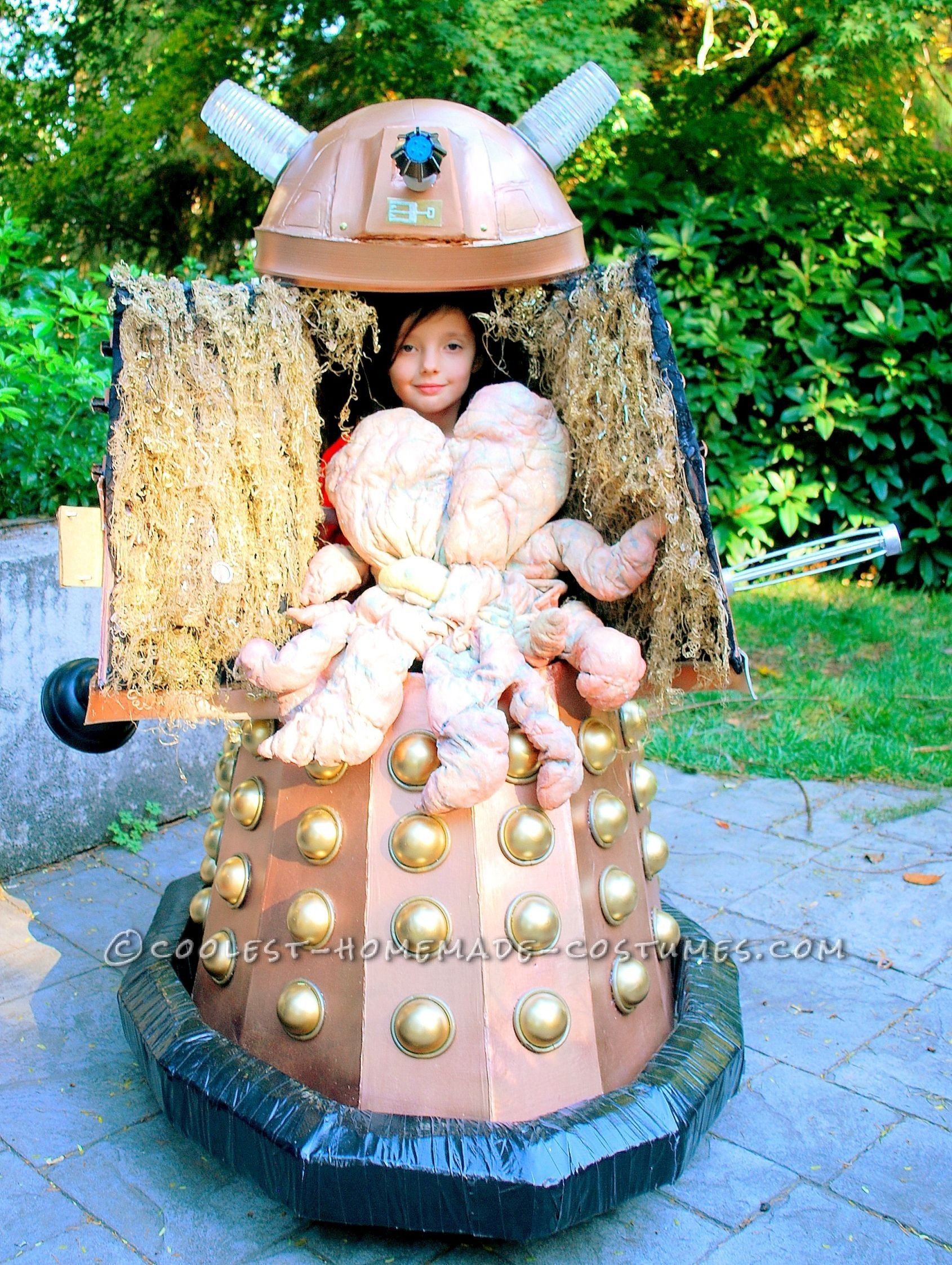 DIY Doctor Costumes  Coolest Homemade Doctor Who Dalek Caan Costume