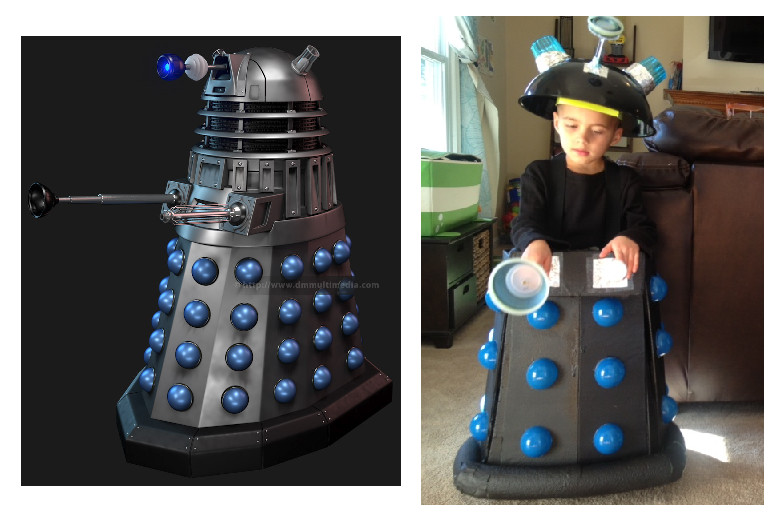 DIY Doctor Costumes  Things I Do When I m Bored DIY Doctor Who Kid s Dalek