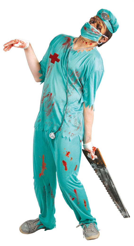 DIY Doctor Costumes  Halloween costumes for adults 13 creepy redesigned clothes