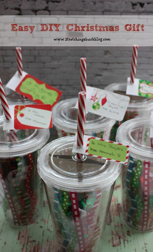 DIY Easy Christmas Gifts  Easy DIY Christmas Gift Idea for Teachers Friends More