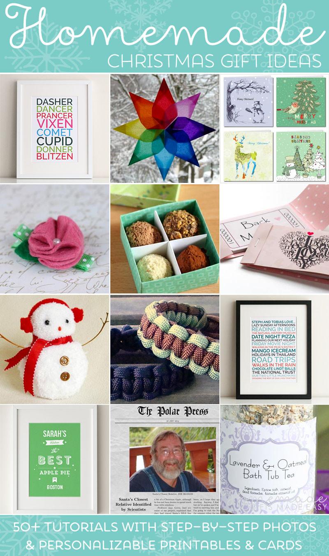 DIY Easy Christmas Gifts  Easy Homemade Christmas Gift Ideas Make Inexpensive