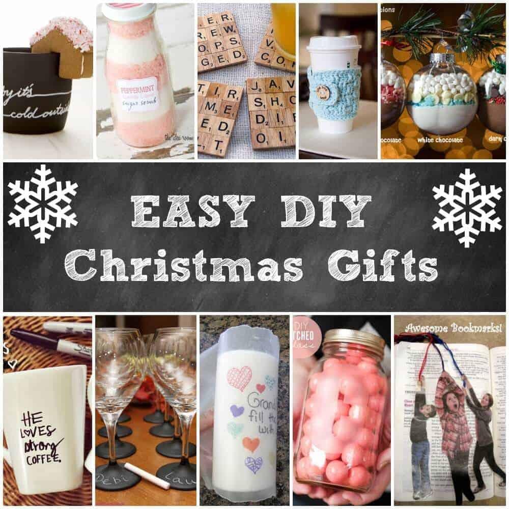 DIY Easy Christmas Gifts  11 DIY Holiday Gifts