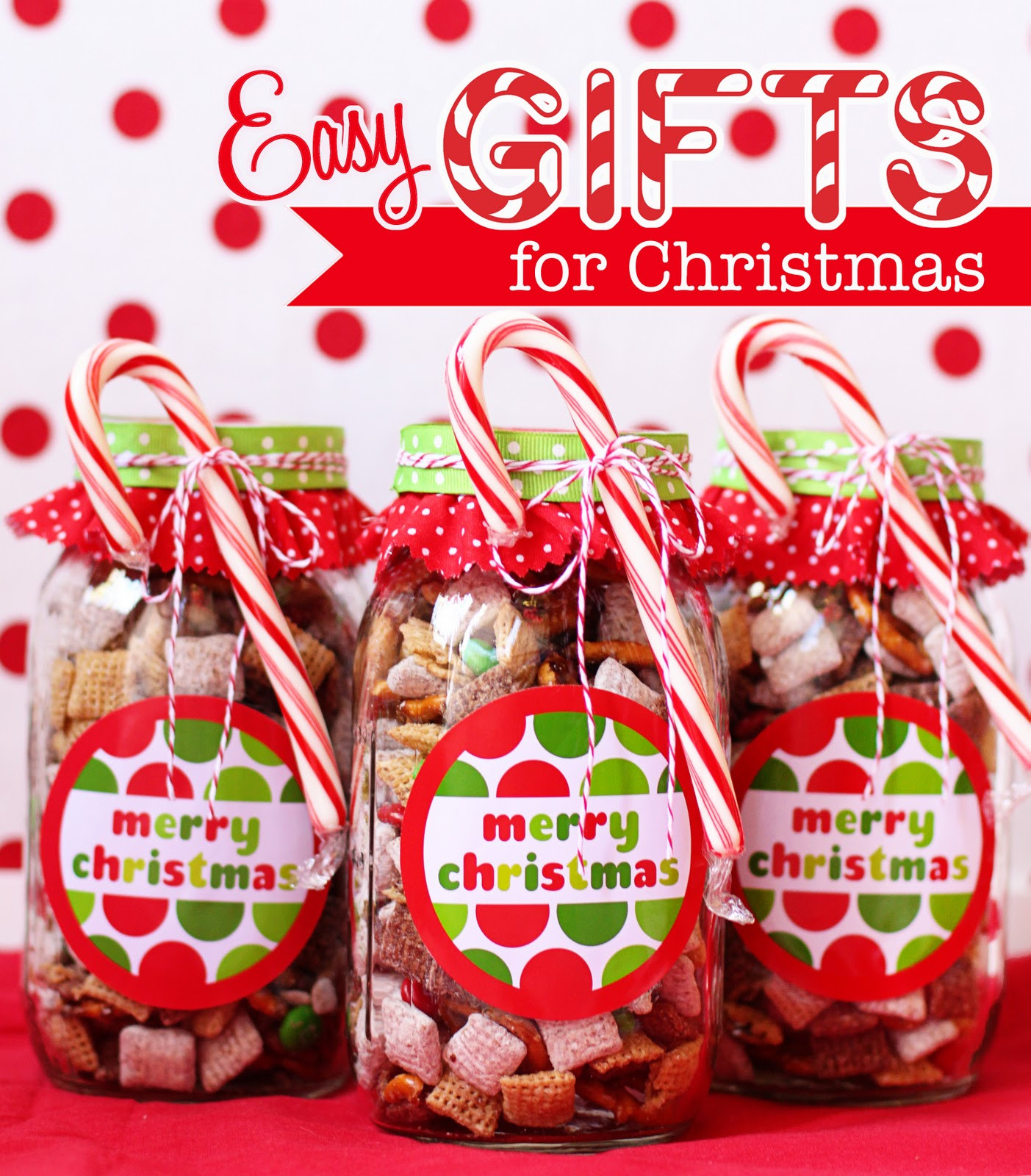 DIY Easy Christmas Gifts  DIY Gift Jars