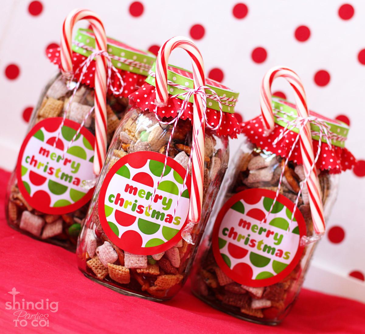 DIY Easy Christmas Gifts  How To Make Handmade Chex Mix Holiday Gifts & Bonus Free