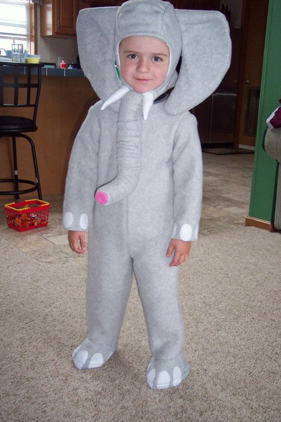 DIY Elephant Costume  Custom made to size Elephant by sisterssewwhat on Etsy
