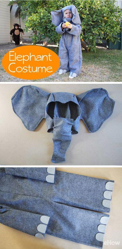 DIY Elephant Costume  25 best ideas about Elephant Costumes on Pinterest