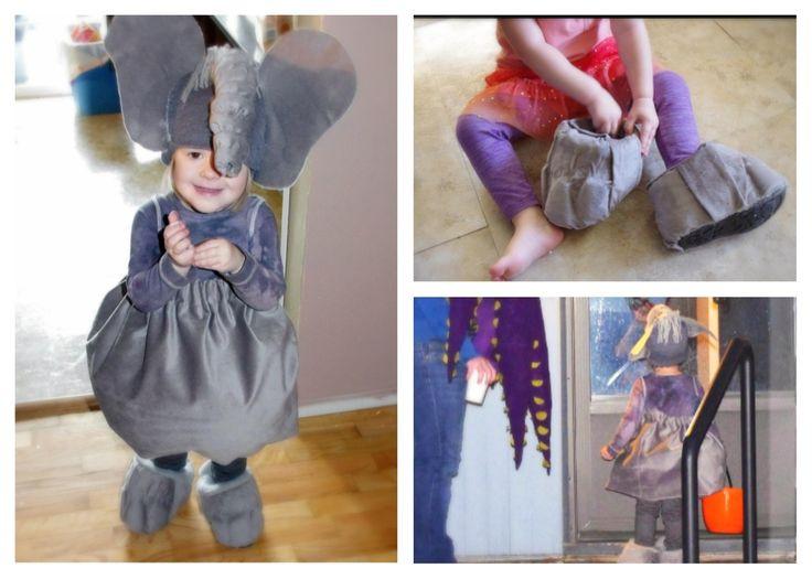 DIY Elephant Costume  Homemade Elephant costume Halloween