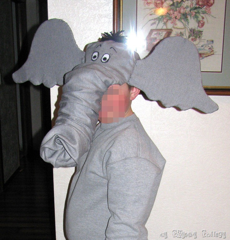 DIY Elephant Costume  Homemade Elephant Costume Operation18 Truckers Social