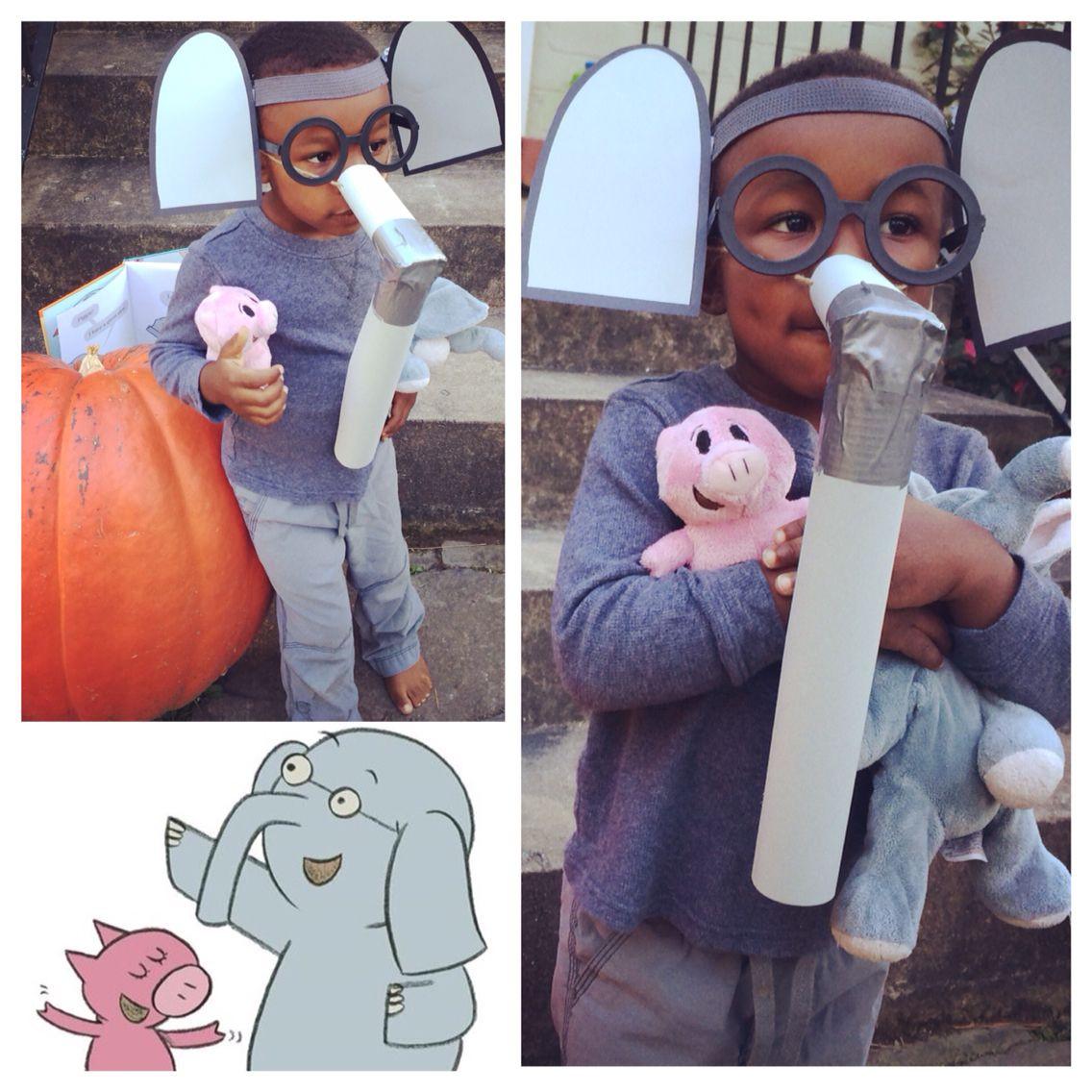 DIY Elephant Costume  It s Gerald from Elephant & Piggie Super easy DIY costume