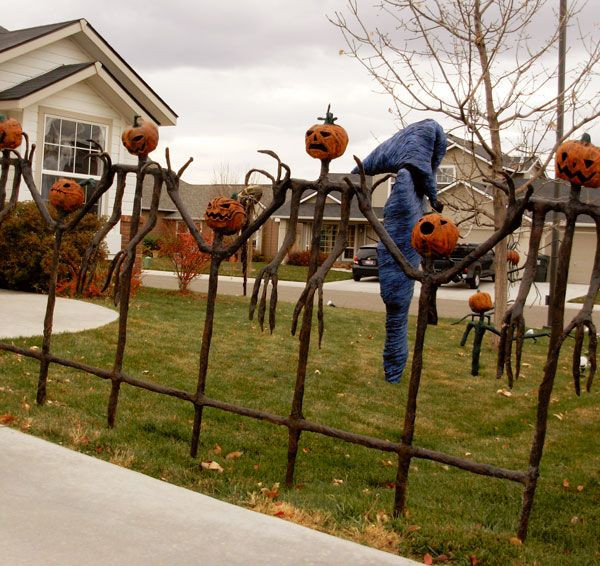 Diy Halloween Fence  1136 best BOO tiful Halloween things to make images on