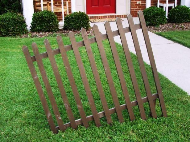 Diy Halloween Fence  Halloween Decoration Build a Crooked Cemetery Fence