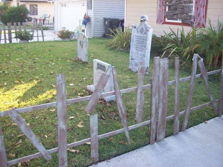 Diy Halloween Fence  372 best Halloween yard haunt ideas images on Pinterest