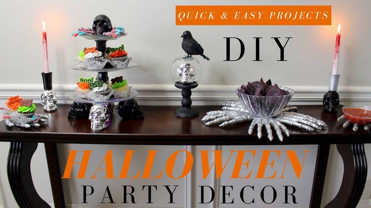 Diy Halloween Party Ideas  DIY Halloween Decorations