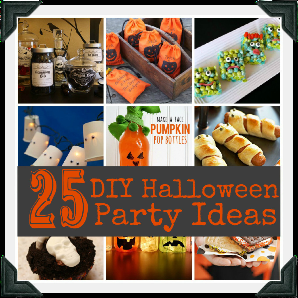 Diy Halloween Party Ideas  Blissful and Domestic Creating a Beautiful Life on Less